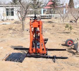 柴油机取样钻机 液压取样地质勘探钻眼取样机 简便快捷