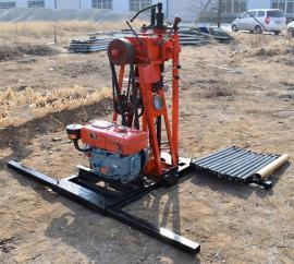 全国 移动取芯钻机 能打50深的钻机 小型打孔钻机