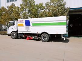 东风扫路车道路清扫车环卫车吸尘干扫湿扫垃圾回收多功能洗扫车