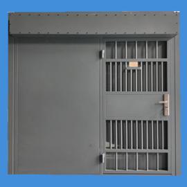 看守所监视门AB监狱门拘留所钢质电动监视门报价