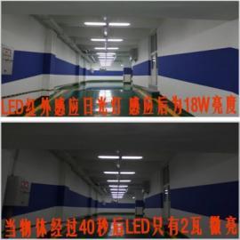 大型商场或停车场LED日光灯替换T8荧光灯节电方案