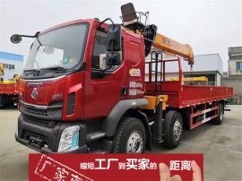 东风柳汽乘龙M3小三轴随车吊上装程力霸龙吊机