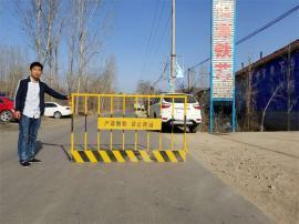 基坑防护栏加工生产 基坑防护栏 /竖管红白 颜色规格定制报价