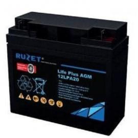 法国路盛RUZET蓄电池LPA12V100AH型号齐全