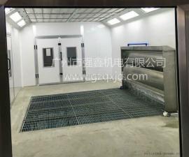 *生产水帘式家具喷漆房,无尘喷漆房设备,质保一年