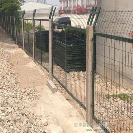 铁路专用护栏网|整体热浸锌铁路防护栅栏|防护栅栏加密金属网片