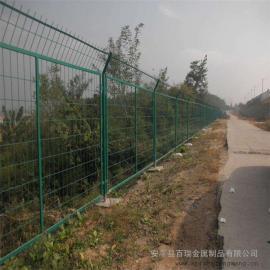 铁路隔离栅栏网|国标热浸锌浸塑防护栅栏|铁路扁铁防护栅栏