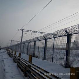 铁路钢板网栅栏网片|铁路防护围栏|铁路栅栏金属网