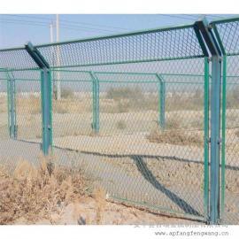 铁路专用护栏|国标热浸锌浸塑防护栅栏|铁路桥下封闭栅栏网