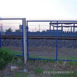 铁路桥防护栅栏|整体热浸锌铁路防护栅栏|护栏网隔离网