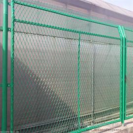 铁路防护栏杆|整体热浸锌铁路防护栅栏|桥下封闭防护栅栏