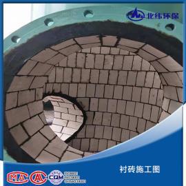耐酸砖防腐工程 环保工程 衬里防腐工程