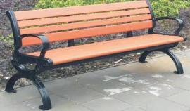个性景观长凳定制-时尚园林长椅-公园椅制造商