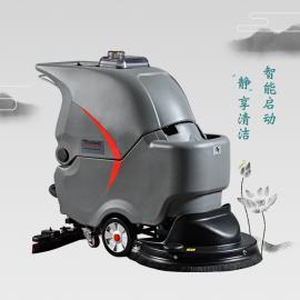 GM56B高美静音洗地机手推式工厂擦地机洗地车上门培训拖地机嘉定