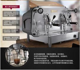 新款意大利飞马 E61双头商用半自动咖啡机
