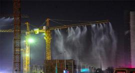 塔吊喷淋生产安装