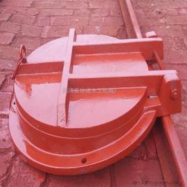 管道铸铁拍门优质铸铁、质量有保障