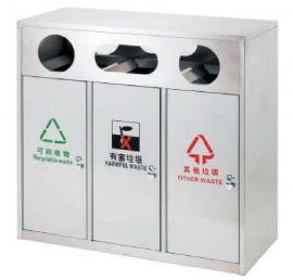 小区分类垃圾桶