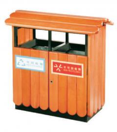户外金属垃圾桶