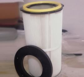 工厂直供六耳卡盘除尘滤芯滤筒1890 阻燃滤芯 覆膜滤芯