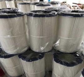 工厂直供六耳卡盘除尘滤芯滤筒3266 阻燃滤芯 覆膜滤芯