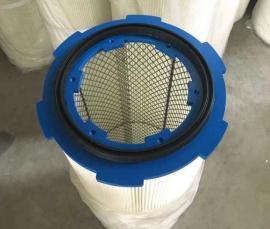 六耳卡盘除尘滤芯滤筒 阻燃滤芯 覆膜滤芯3075