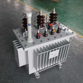 S11-125KVA 10/0.4KV 全铜 三相全密封 油浸式配电变压器