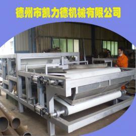 带式泥浆压榨机 打桩电镀厂污水处理设备