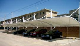 钢膜结构网架结构阳光板光伏板首选三胜膜结构