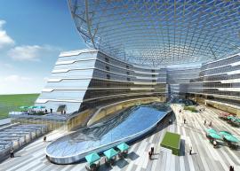 盈丰铸钢生产大型体育场馆、会展中心、机场、高铁站房