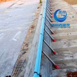 名川液压活动坝在无电 无动力源的情况下可以达到降坝操作