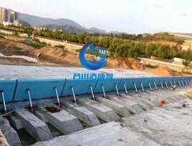 MC名川液压活动坝攻克了传统的坝型的所有缺点