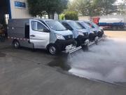 人行道的路面清洗车