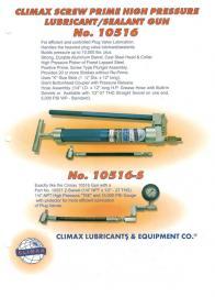 CLIMAX手动液压注脂枪10516-S