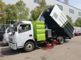 东风多利卡5方扫路车多功能扫地车市政环卫车道路垃圾清扫车