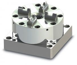 CNC快速定位夹具厂 气动卡盘 EROWA工装夹具