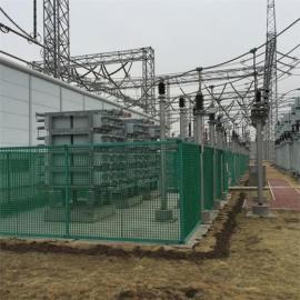 变电站黄色固定式玻璃钢围栏