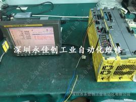 FANUC 发那科31i -a系统显示屏A02B-0307-B520显示器维修