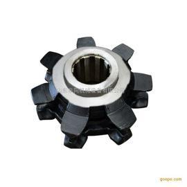 现货优质40T刮板机机头轮七星耐磨损链轮 矿用高强度七星链轮