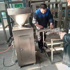 定量灌肠机 自动灌香肠机 做香肠专用机器