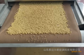 不锈钢环保型小麦胚芽烘焙机