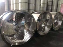 304不锈钢风机380V防潮防腐耐高温排烟工业圆桶管道轴流风机220V
