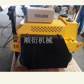 单钢轮压路机 2.5T单轮压路机沟槽压实机