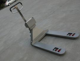 SCS-EXZ系带打印防爆宽叉叉车秤,1000kg防爆电子叉车称