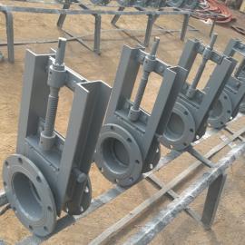 安创直供 阀门 翻板阀 手动气动电动方形圆形挡板阀 插板阀