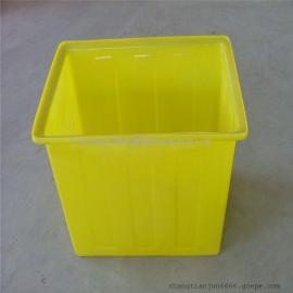 塑料方箱、塑胶方桶、PE桶、落纱桶
