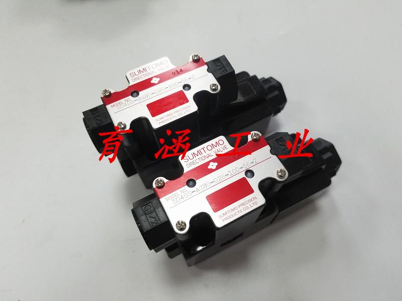 日本SUMITOMO住友电磁阀代理现货 SD4SGS-ACB-02D-100-50A-Z