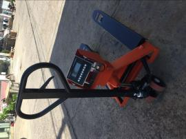 SCS-EXZ系列不锈钢防爆叉车电子称-隔爆型宽叉电子叉车秤