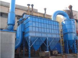 滤筒除尘器中的每个旋风器采用轴向进气口