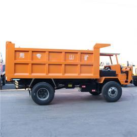 工程四轮翻斗车 中型10吨四驱爬山王拉喷浆料哪有卖